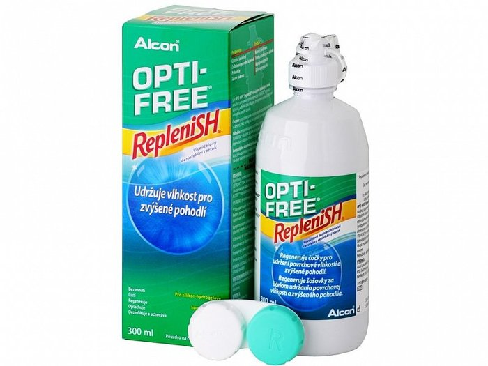 Alcon Opti-Free RepleniSH 300 ml s pouzdrem