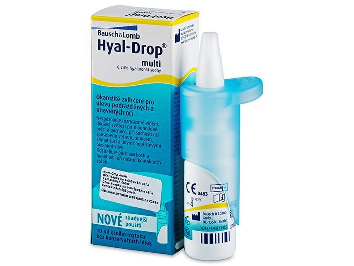 Bausch & Lomb HyalDrop multi 10 ml