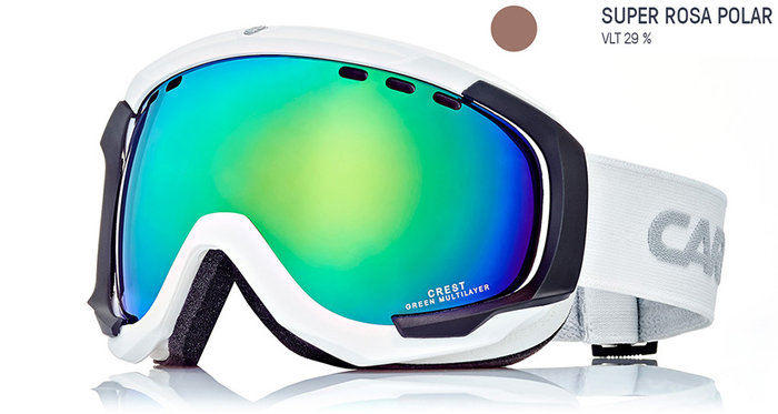 Carrera Lyžařské brýle Carrera CREST SPH - bílé/rosa