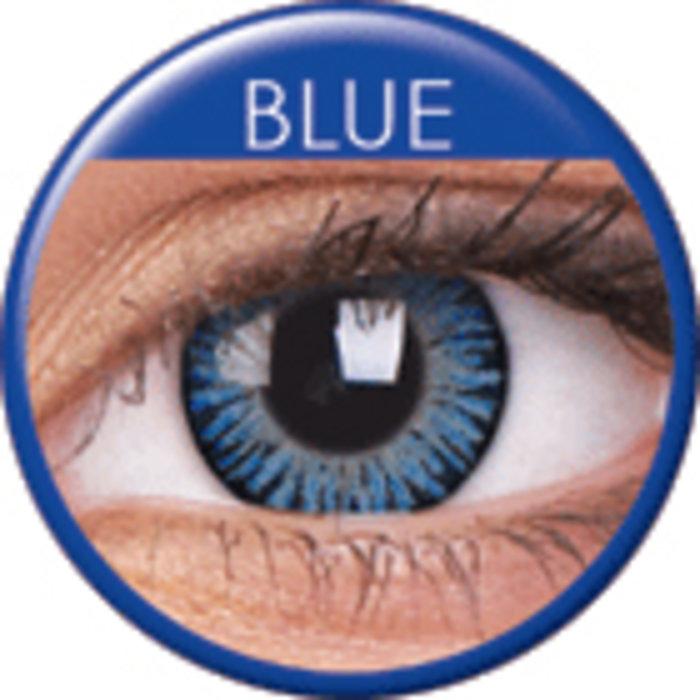 maxvue vision ColourVue 3 Tones - Blue (2 čočky tříměsíční) - nedioptrické