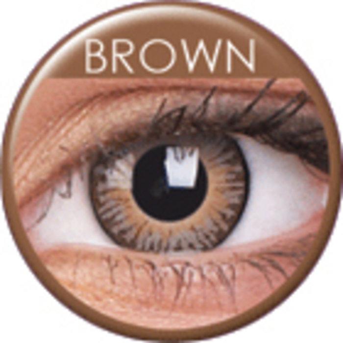 maxvue vision ColourVue 3 Tones - Brown (2 čočky tříměsíční) - nedioptrické