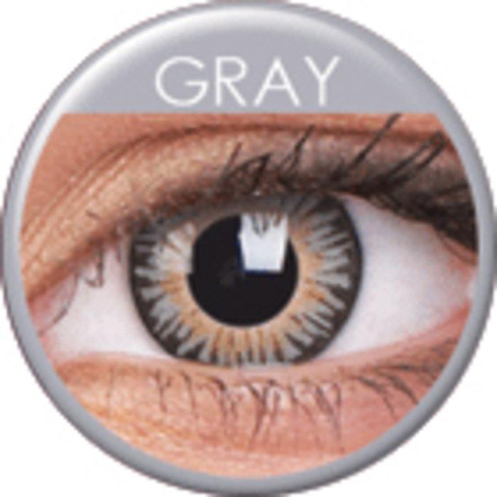 maxvue vision ColourVue 3 Tones- Grey (2 čočky tříměsíční) - dioptrické Dioptrie -8,00, Zakřivení 8.6