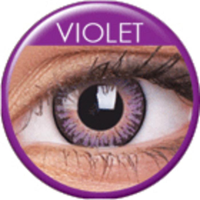 maxvue vision ColourVue 3 Tones - Violet (2 čočky tříměsíční) - nedioptrické