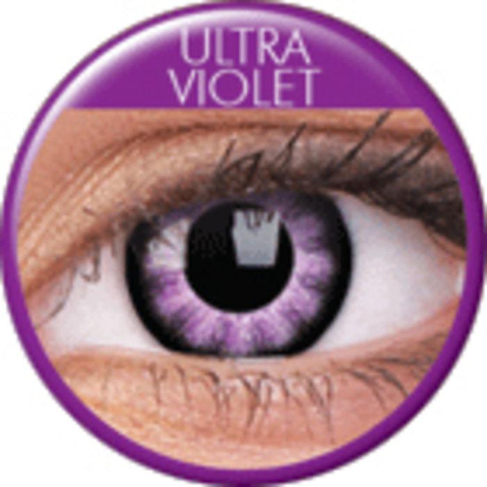 maxvue vision ColourVue Big Eyes - Ultra Violet (2 čočky tříměsíční) - nedioptrické