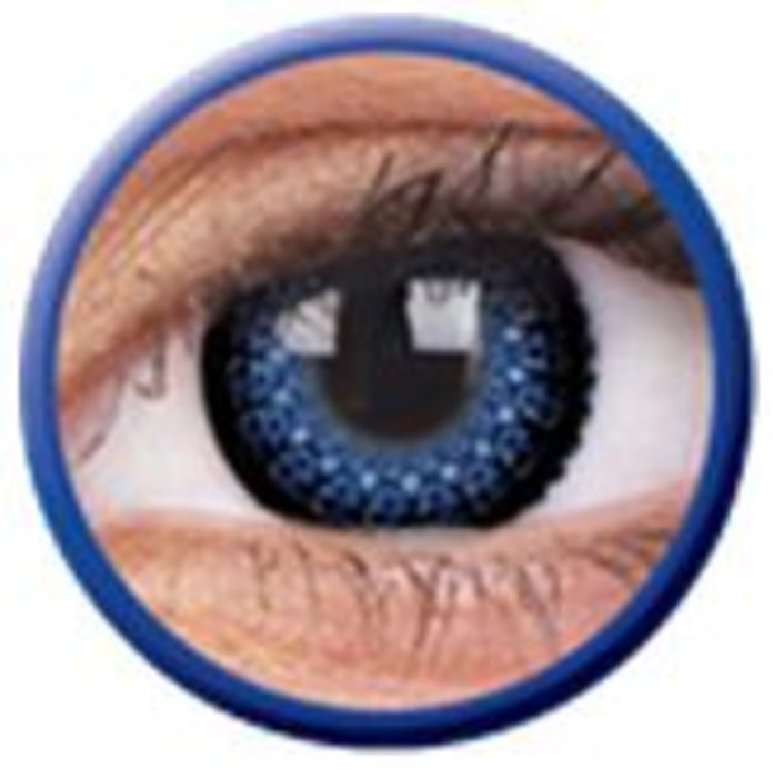 maxvue vision ColourVue Eyelush - Blue (2 čočky tříměsíční) - nedioptrické
