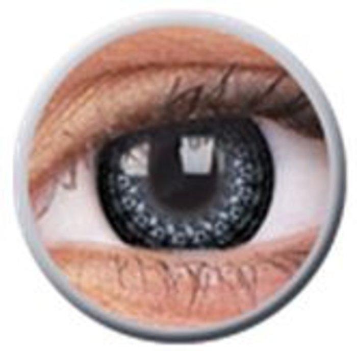 maxvue vision ColourVue Eyelush - Grey (2 čočky tříměsíční) - nedioptrické