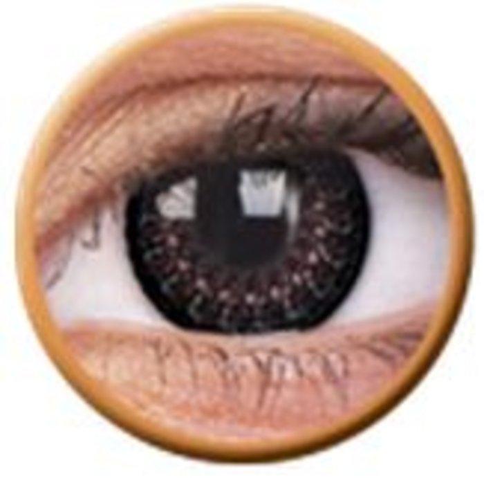 maxvue vision ColourVue Eyelush - Choco (2 čočky tříměsíční) - nedioptrické