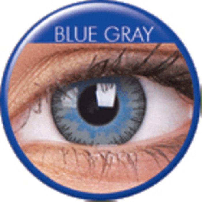 maxvue vision ColourVue Fusion - Grey Blue (2 čočky tříměsíční) - dioptrické Dioptrie -2,75, Zakřivení 8.6