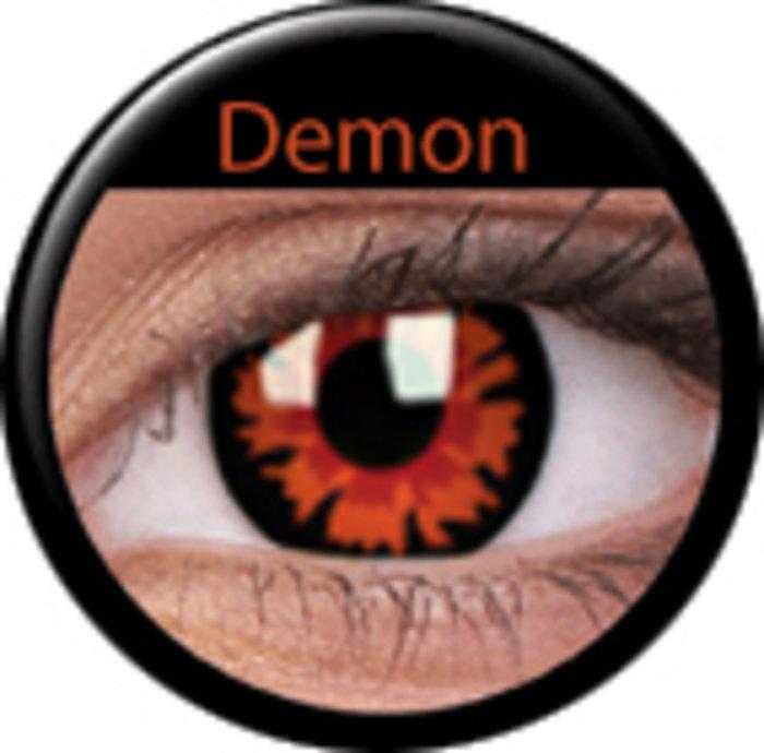 maxvue vision ColourVue Crazy čočky - Demon - Volturi (2 ks jednodenní) - nedioptrické
