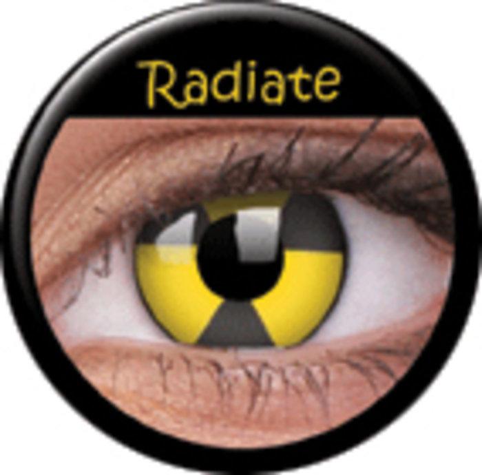 maxvue vision ColourVue Crazy čočky - Radiate (2 ks roční) - nedioptrické