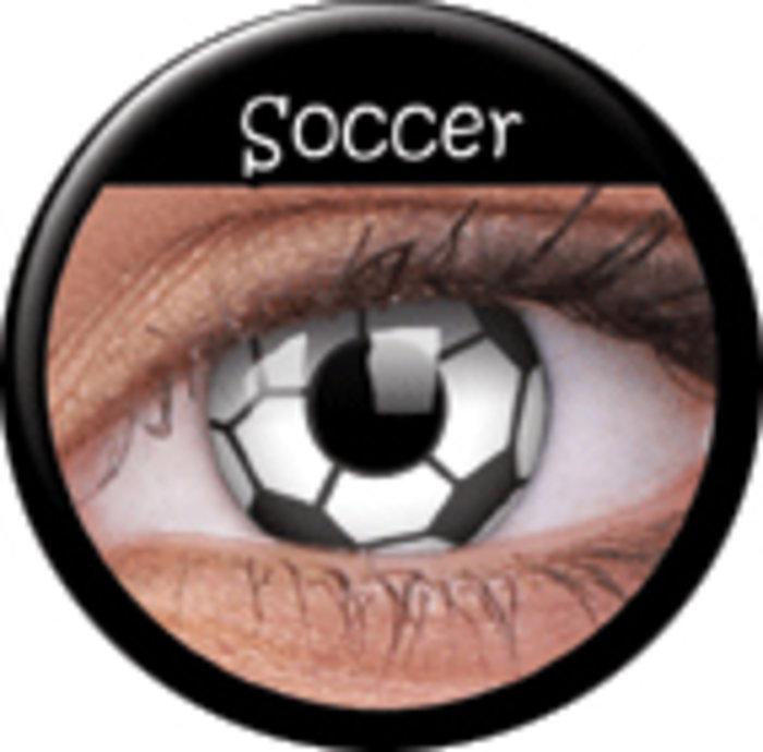 maxvue vision ColourVue Crazy čočky - Soccer (2 ks roční) - nedioptrické