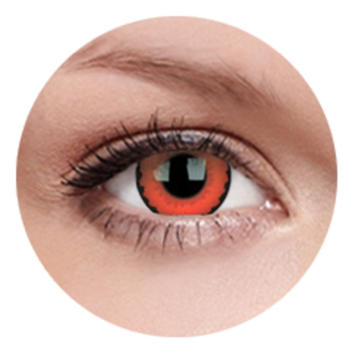 maxvue vision ColourVue Crazy čočky - Zarathos (2 ks roční) - nedioptrické
