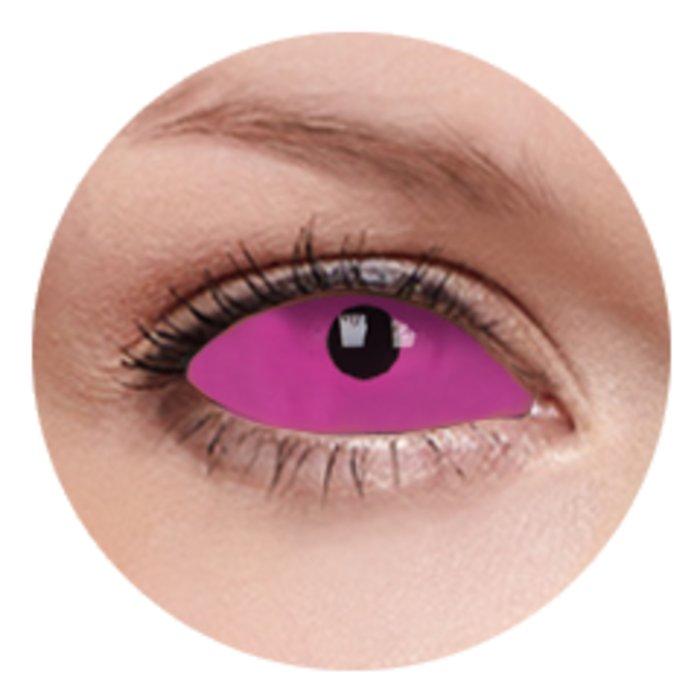 maxvue vision ColourVue Crazy čočky UV Sklerální - Radien Pink (2 ks půlroční) - nedioptrické