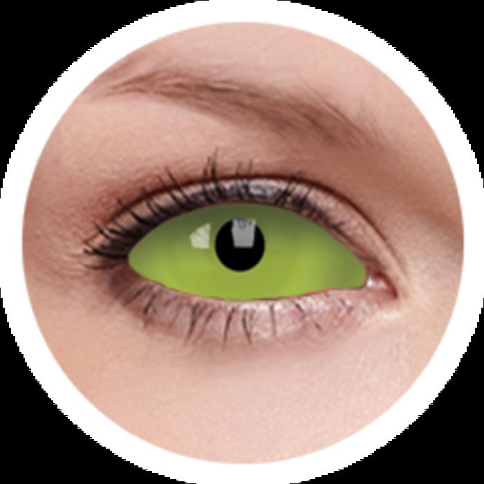 maxvue vision ColourVue Crazy čočky UV Sklerální - Spawn (2 ks půlroční) - nedioptrické