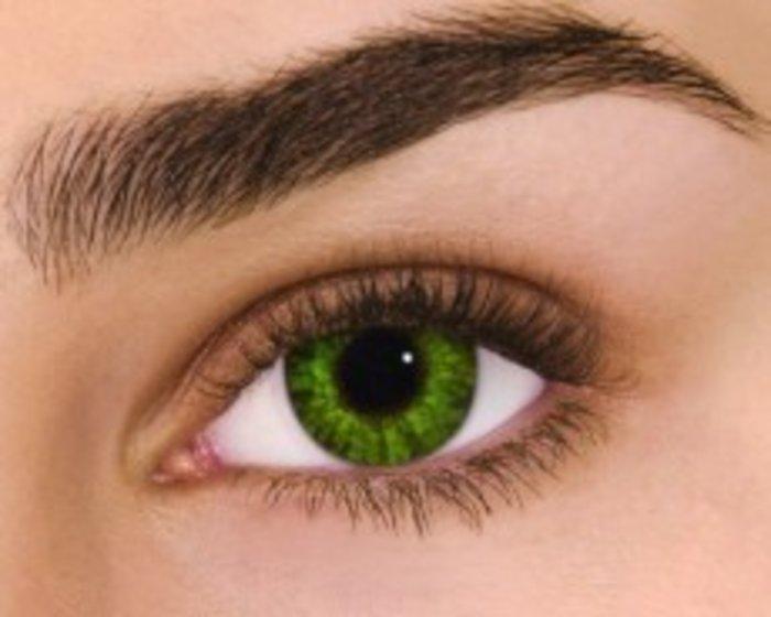 Alcon Air Optix Colors - Gremstone Green (2 čočky měsíční) - nedioptrické