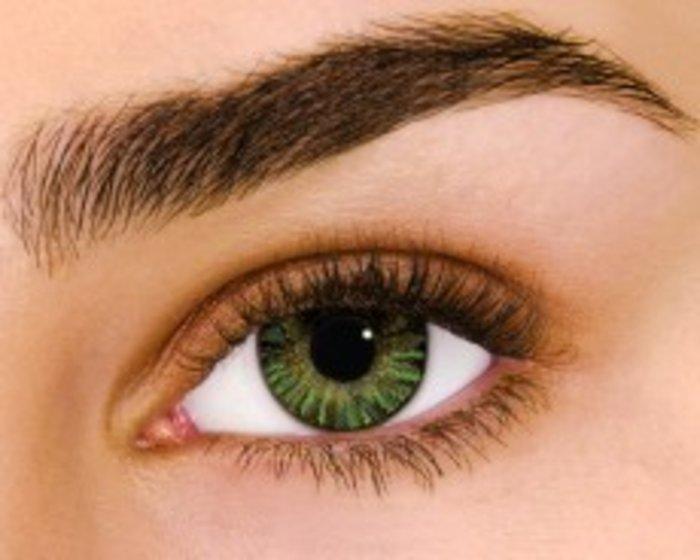 Alcon Air Optix Colors - Green (2 čočky měsíční) - nedioptrické