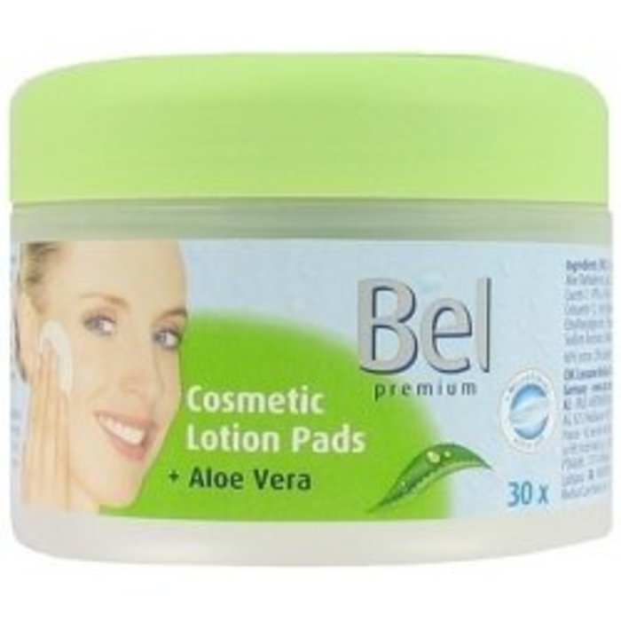Hartmann Bel Premium Cosmetic Lation Pads s Aloe Vera 30 ks