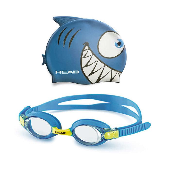 HEAD HEAD Goggle Meteor set modrý