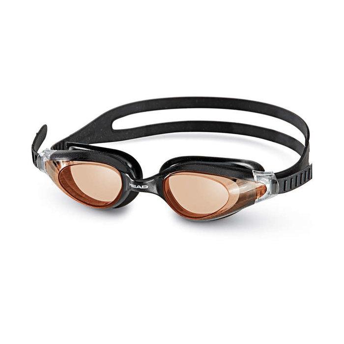 HEAD HEAD Goggle Cyclone - plavecké brýle černé/oranžové
