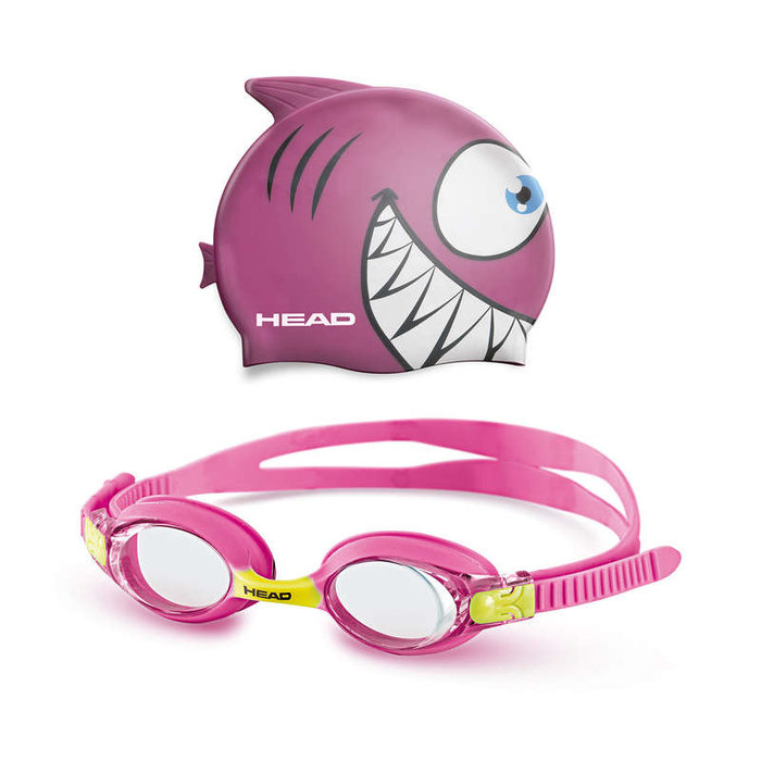 HEAD HEAD Goggle Meteor set růžový