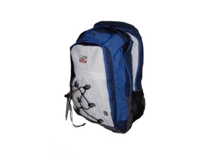 Sportovní batoh modro-bílý Loap