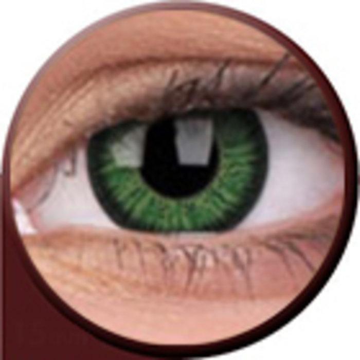 maxvue vision Phantasee Vivid - Green (2 čočky tříměsíční) - nedioptrické