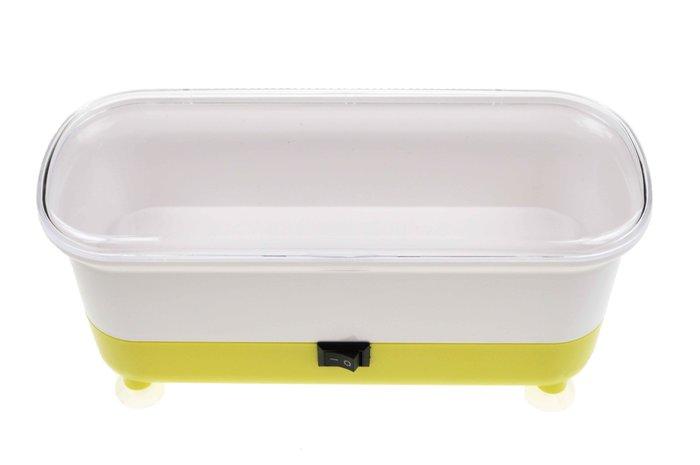 SUNGWANG OPTIC Automatická čistička brýlí - žlutá