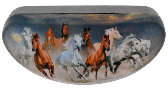 SUNGWANG OPTIC Pouzdro na brýle velké - koně