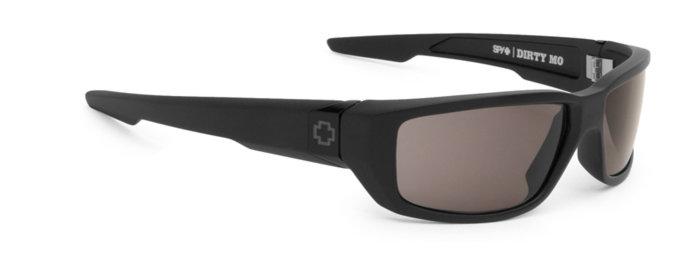 spy optic SPY sluneční brýle DIRTY MO Matte Black Grey - Polarizační
