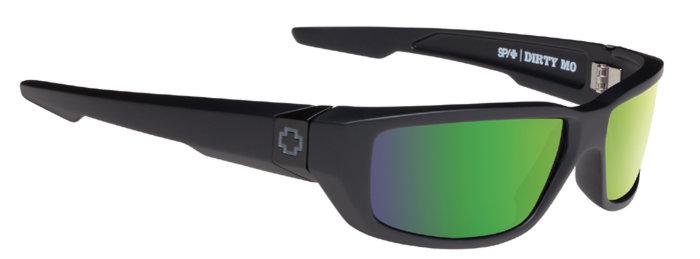 spy optic SPY sluneční brýle DIRTY MO Matte black - polarizační