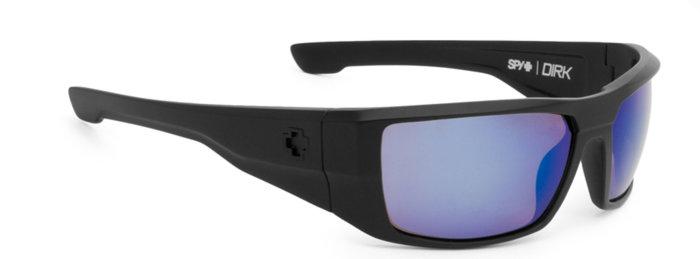 spy optic SPY sluneční brýle Dirk Matte Black Blue - Polarizační