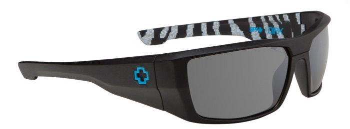 spy optic SPY sluneční brýle Dirk Livery Matte Black - Ken Block