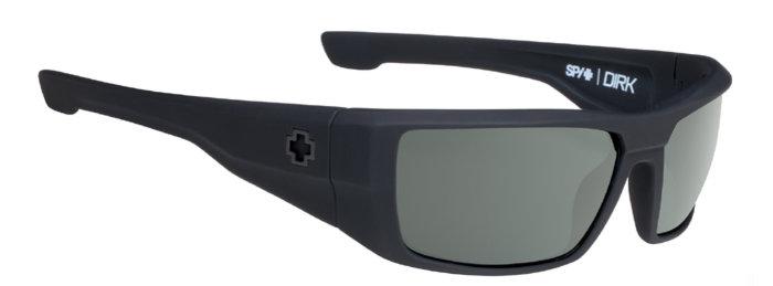 spy optic SPY sluneční brýle Dirk Soft Matte Black - happy