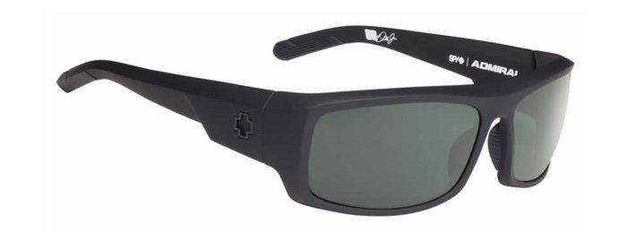 spy optic SPY sluneční brýle ADMIRAL Soft Matte Black