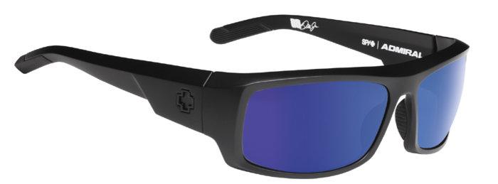 spy optic SPY sluneční brýle ADMIRAL Matte Black - Blue