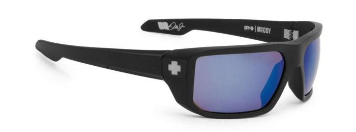 spy optic SPY sluneční brýle McCoy Matte Black Blue - Polarizační