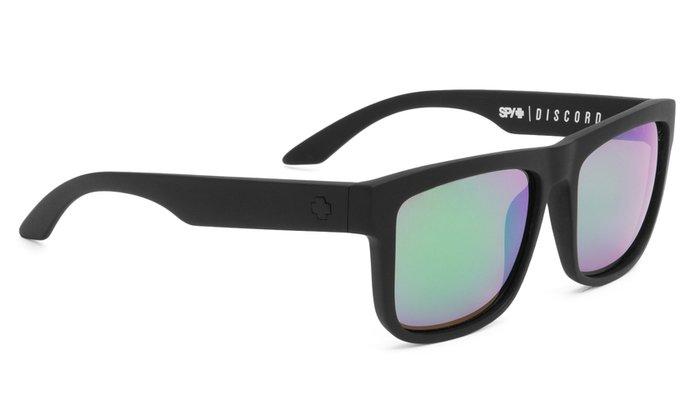 spy optic SPY sluneční brýle DISCORD Matte Black Green - Polarizační