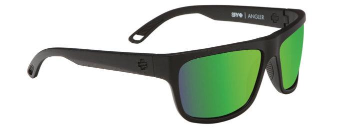 spy optic SPY sluneční brýle Angler Matte Black - Happy bronze / green spectra - polarizační