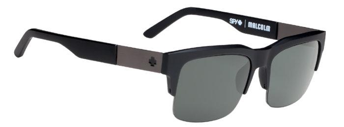 spy optic SPY Sluneční brýle Malcolm Matte Black - Happy