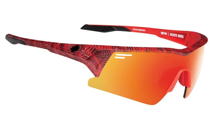 spy optic SPY cyklistické brýle SCREW OVER Infinite Red