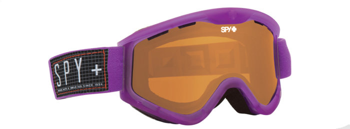 spy optic SPY Lyžařské brýle T3 - Translucent / Persimmon