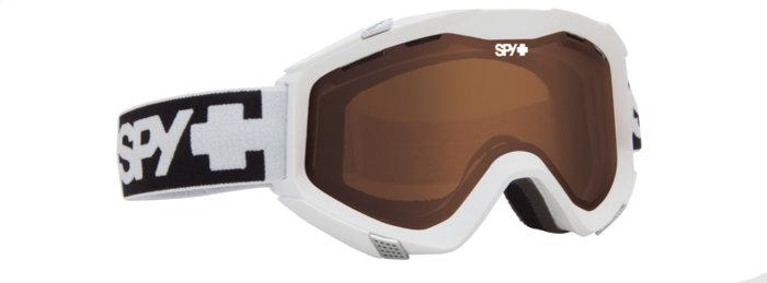 spy optic SPY Lyžařské brýle ZED - White Bronze
