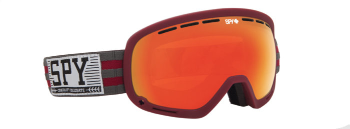 spy optic SPY Lyžařské brýle MARSHALL - Chairlift / Red