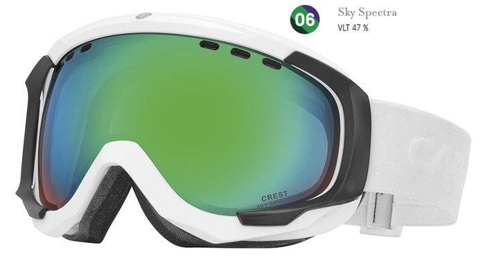 Carrera Lyžařské brýle Carrera CREST SPH - bílé/sky