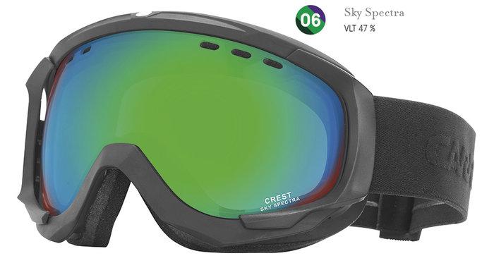 Carrera Lyžařské brýle Carrera CREST SPH - černé/sky