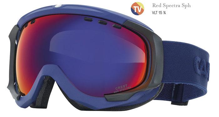 Carrera Lyžařské brýle Carrera CREST SPH - modré/red