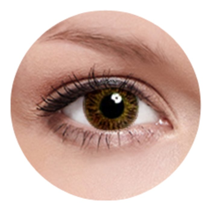 Oculus Kontaktní čočky FreshKon (2ks, měsíční) - Warm Hazel dioptrické Dioptrie -0,50, Zakřivení 8.6