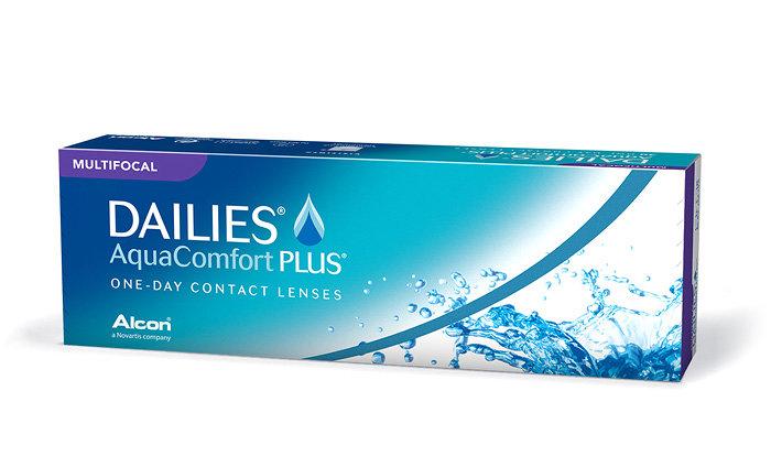 Alcon Dailies AquaComfort Plus Multifocal (30 čoček) Dioptrie -10,00, Adice Hi, Zakřivení 8.7