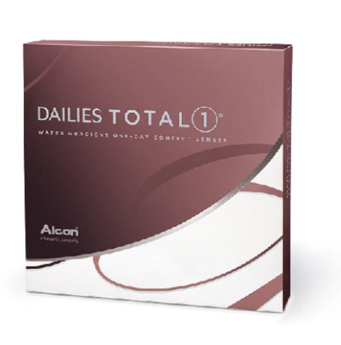 Alcon Dailies Total 1 (90 čoček) Dioptrie -1,75, Zakřivení 8.5