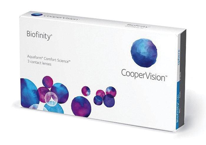 Cooper Vision Biofinity (3 čočky) Dioptrie -12,00, Zakřivení 8.6